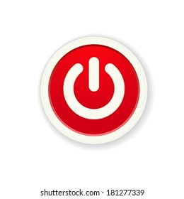 Standby images stock photos vectors shutterstock the red circle button with standby icon the power button standby mode pictogram altavistaventures Gallery