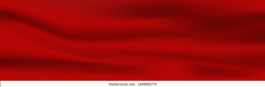Red cloth luxury fabric texture can use as abstract background.Vector illustration eps 10
