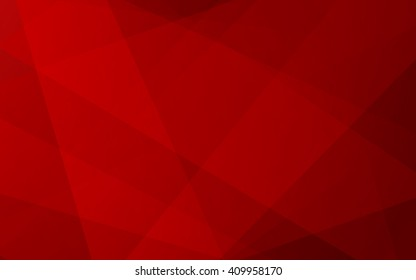 Red color background abstract art vector geometric