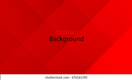 Red color and black color background abstract art vector