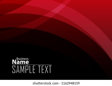 Red contrast abstract technology background. Red corporate design. Abstract tech corporate red design flyer background. Black geometric illustration for flyer, brochures, web graphic design background