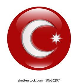 Red Crescent (Original Shiny Button)