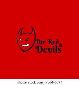 The red devils fan art print