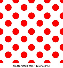 Red dot abstract background