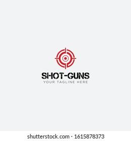 Red Dot Shot guns logo designs