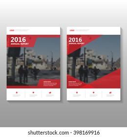 Red elegance Vector annual report Leaflet Brochure Flyer template design, Poster book cover layout design