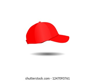 3cc7f91b096 Vector Illustration Red Beanie Hat Seamed Stock Vector (Royalty Free ...