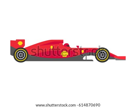 Red formula 1 one
