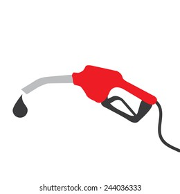 Red Fuel nozzle add fuel