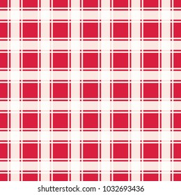 Red geometric pattern