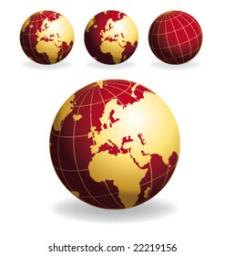 Red globes