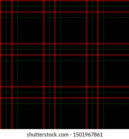 Red, Green and Black tartan plaid Scottish seamless pattern.Christmas and New year concept.Texture from tartan,plaid, tablecloths,clothes,shirts,dresses,paper, bedding, blankets.