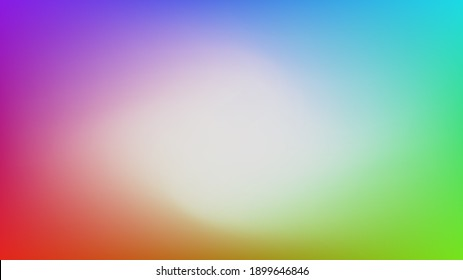 Red green blue and purple gradient mesh background nice for wallpaper and card