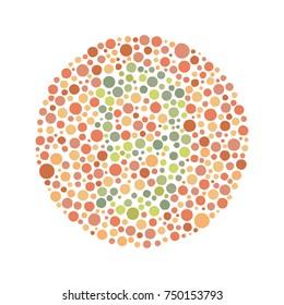 Red Green Color Blind Test - Number 9