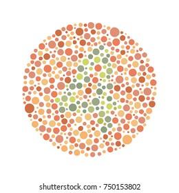 Red Green Color Blind Test - Number 4