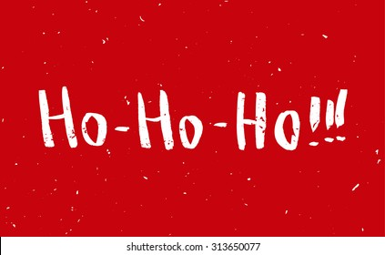 Dirty santa images stock photos vectors shutterstock red greeting christmas card with hand drawn typography lettering holiday banner vintage poster m4hsunfo