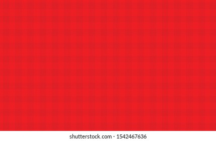 The red grid pattern alternates with the dark red.