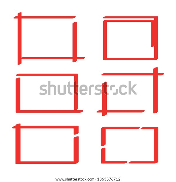 Red Hand Drawn Sketch Rectangle Square Stock Vector Royalty Free 1363576712 Equivalent c# code is below. https www shutterstock com image vector red hand drawn sketch rectangle square 1363576712