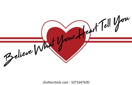 red heart love romantic art vector