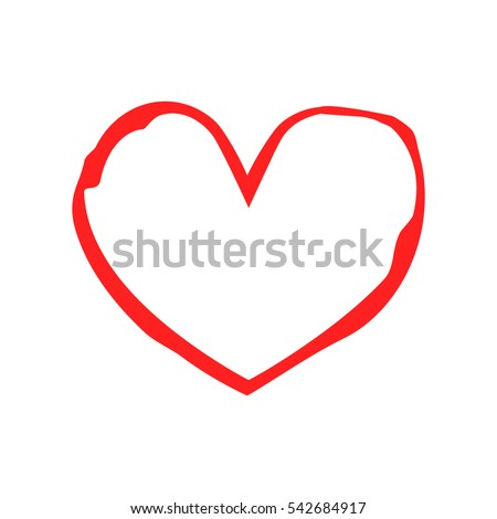 Red Heart Medicine Valentines Day Heart Stock Vector Royalty Free