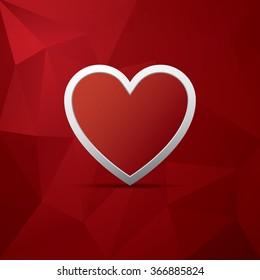 symbol of love images stock photos vectors shutterstock