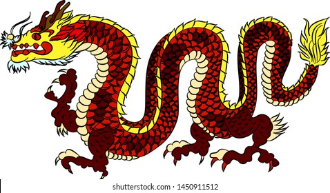 Chinese Dragon Images, Stock Photos & Vectors | Shutterstock