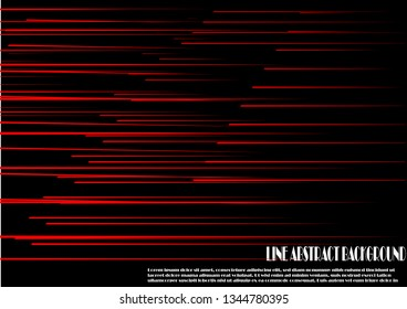 Red line abstract background