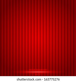 Red lines abstract background. Red template. Vector illustration eps 10