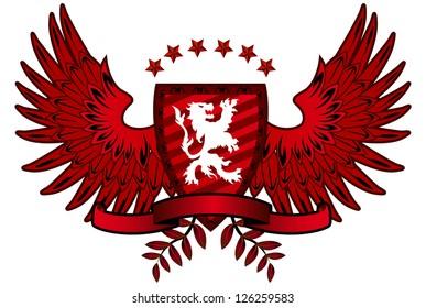 Red Lion Shield