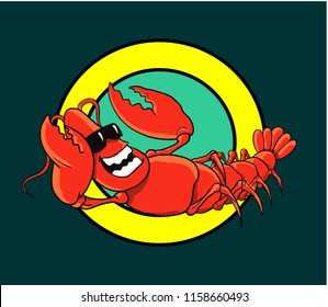 Red Lobster Mascot Character