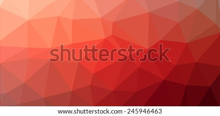 red low polygon background website graphic stock vector royalty