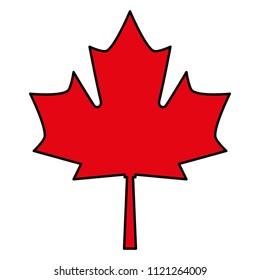 red maple leaf canadian symbol