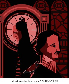 red masque of death edgar alan poe horror tale