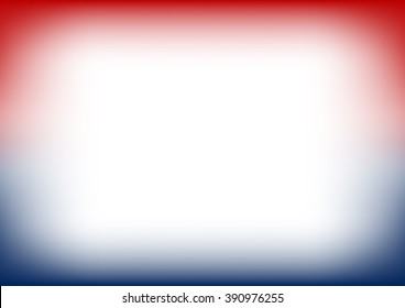 Red Navy Blue Copyspace Background Vector Illustration