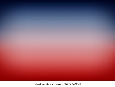 Red Navy Blue Gradient Background Vector Illustration