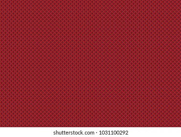 Red net sport wear fabric textile pattern seamless background vector illustration