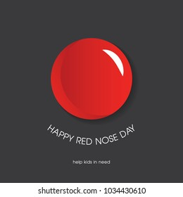 Red Nose Day Greeting card