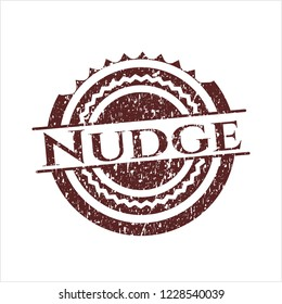 Red Nudge distress rubber seal