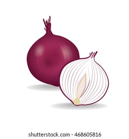 Red Onion Illustration Images, Stock Photos & Vectors ...