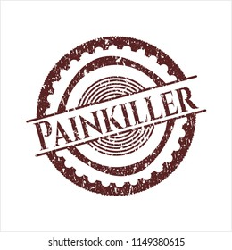 Red Painkiller rubber texture