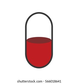 Red Pill Logo, icon.