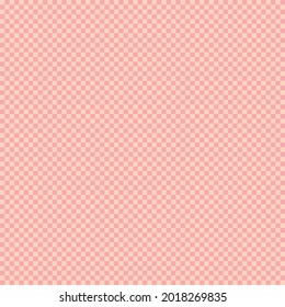 Red and pink Gingham seamless pattern. Texture of diamonds for - checkered, tablecloths, clothes, shirts, dresses, paper, bedding, blankets, duvets and other textile products. Vector illustration.