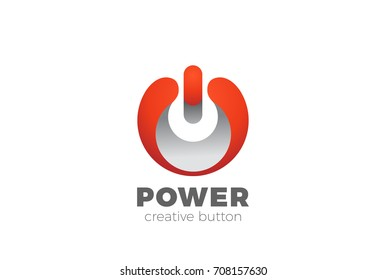power button logo images stock photos vectors shutterstock rh shutterstock com power button lockout meaning power button lockout hp
