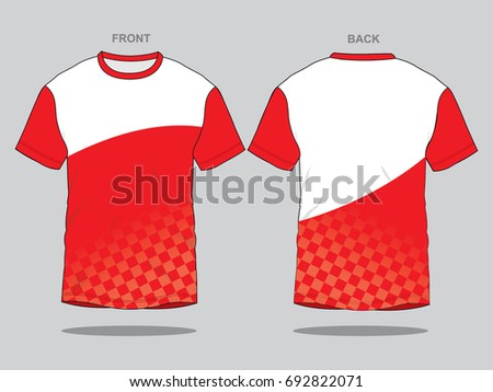 Racing Shirt Design | Red Racing T Shirt Design Stock Vector Royalty Free 692822071