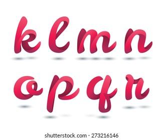 Red Ribbon Script Font