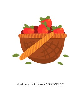 Pomme Panier Stock Illustrations, Images & Vectors