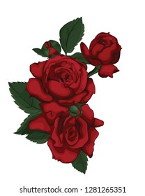 Red rose. Perfect for background greeting cards and invitations of the wedding, birthday, Valentine's Day, Mother's Day. Be my Valentine.