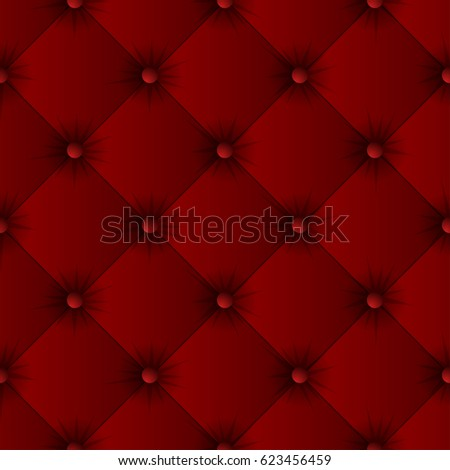 Red Sofa Texture Seamless Pattern Easy Editable Background Color Vector Ilration