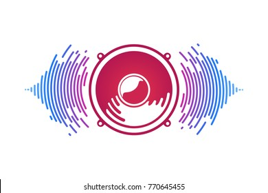 Speaker Logo Images Stock Photos Vectors Shutterstock