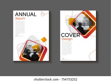 red square abstrac background modern cover design modern book covert Brochure cover  template,annual report, magazine and flyer layout Vector a4